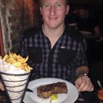 Possibly the best steak we've ever had
