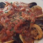Seafood area Diavolo