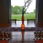 Private tasting room at 2 Lads Winery