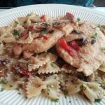 Chicken Special with Farfalle