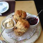 A charming Tearoom with excellent home baked food...
