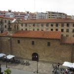 Iglesia de San Juan de Barbalos vista desde la habitación