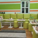 Enjoy your best moments with tasty vegetarian food in our beautiful interior design