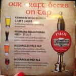 carte des biere