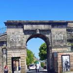 """""""Bishops Gate"""" - part of """"Derry's Walls""""."""