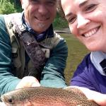 My first rainbow of the season... Great day on the river!
