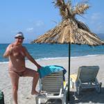 Exotic Beach sunbeds