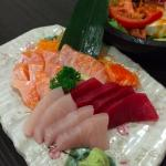 Assorted sashimi (small!)