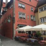 Roter Hahn Rothenburg Foto