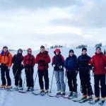 Skiing with your bestie