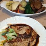The best food in Norwich. Jerk chicken, prawns, steak au poivre.