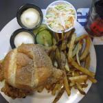 Fish sanswich
