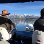 Jackson Lake fishing from Signal Mountain marina