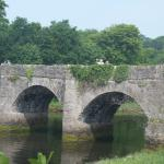 Castle Bridge in Buncrana, perfect place to stop after the Swan Park walk..