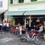 What a great place to hang out and enjoy great coffee and cake, or a glass of prosecco