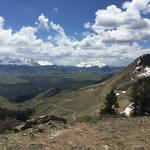 View from the first hut on the Telluride to Gateway route.