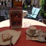 Cappuccino and Strudel