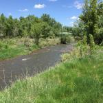 Bear Creek, photo taken from paved trail