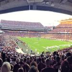 At Kyle Field, Texas A&M University