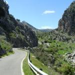 Door de bergen naar de stad Montejaque
