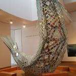 Standing Glass Fish by Frank Gehry