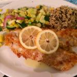 Almond-crusted Walleye