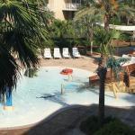 Beautiful view and wonderful pool area
