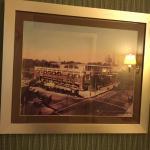 Photo of original  building decorated the bathroom