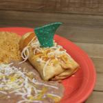 Lunch Special Chicken Chimichanga