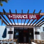 Entrance to the Terrace Bar