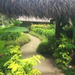 The path to the Royal Beach House in our Fijian paradise!