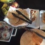 Teil des Frühstücksbuffets: Alles frisch
