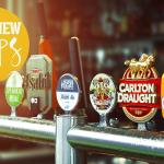 Beautiful beverages on tap