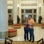 In the Grand Lobby.
