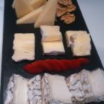 Pizarra de quesos