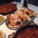 garlic chilli lamb and naan