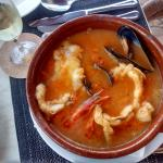 Monk fish casserol