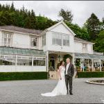Our wedding day - Plas Maenan
