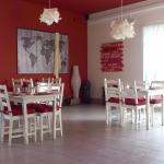 """Sala do Restaurante """"O Campista"""""""