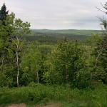 View into BWCA and Superior National Forest from Oberg Mountain