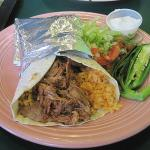 HUGE burrito!