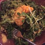 The Healer Bowl! Swap out broccoli for more kale :) and add squash!!