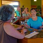 Sheri C. and Therese Bergholz at Branches Winery...
