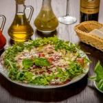 Salatka alla carpacio-pycha