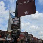 Look for guitar-pick shaped signs that mark live music venues