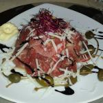 Dishes from Piramida Restaurant
