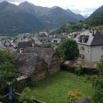village of St Savin and Pyrenees