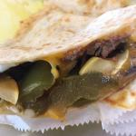 The Manresa quesadilla ...  Wow awesome !!!