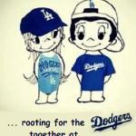 we have the Dodger games
