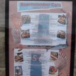 Beachcomber Cafe menu in St Ives